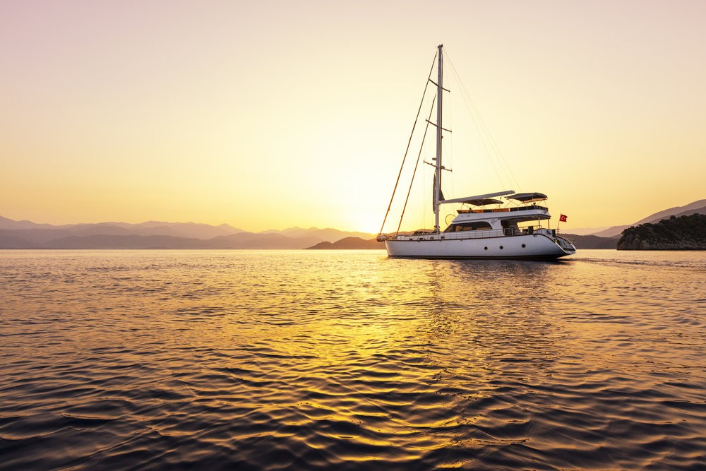 Hire Sailboat with or without skipper Motor Sailer Fethiye