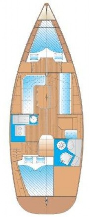 Bavaria Bavaria 33 Cruiser between personal and professional Ionian Islands