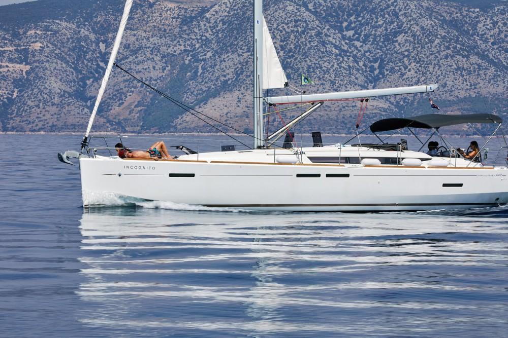 Rent a Jeanneau Sun Odyssey 449 Split