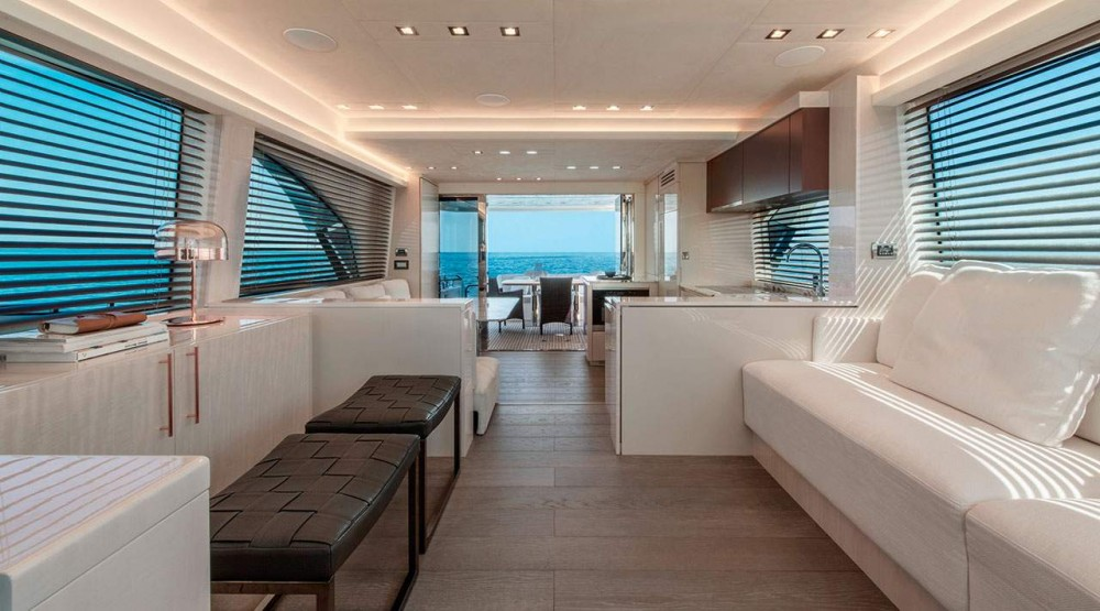 Rental Motorboat Monte Carlo Yachts with a permit