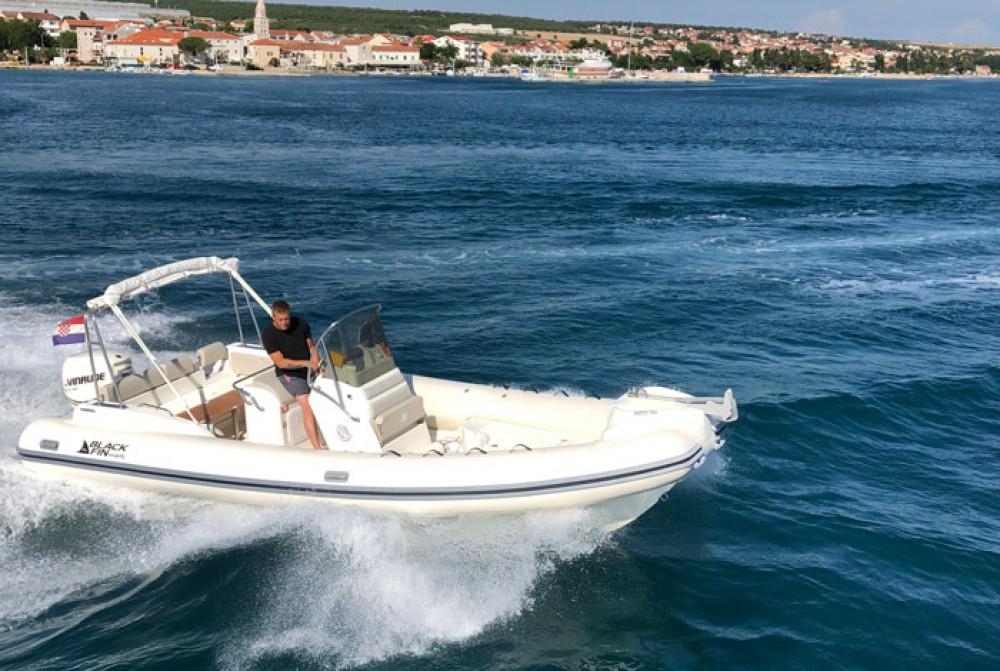 Boat rental Croatia cheap Black Fin