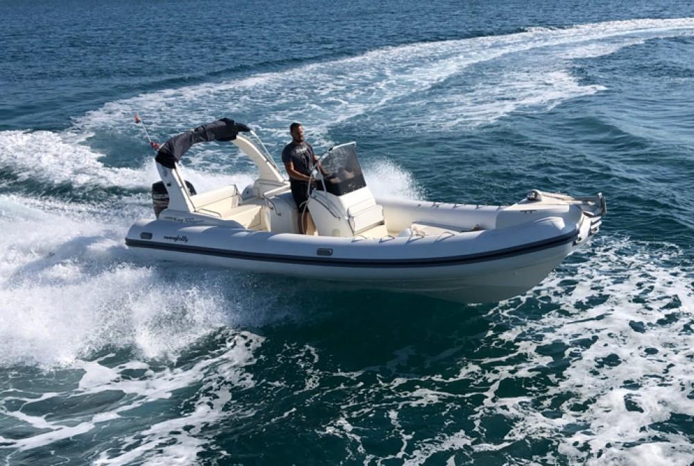 Rental RIB Nuova-Jolly-Marine with a permit