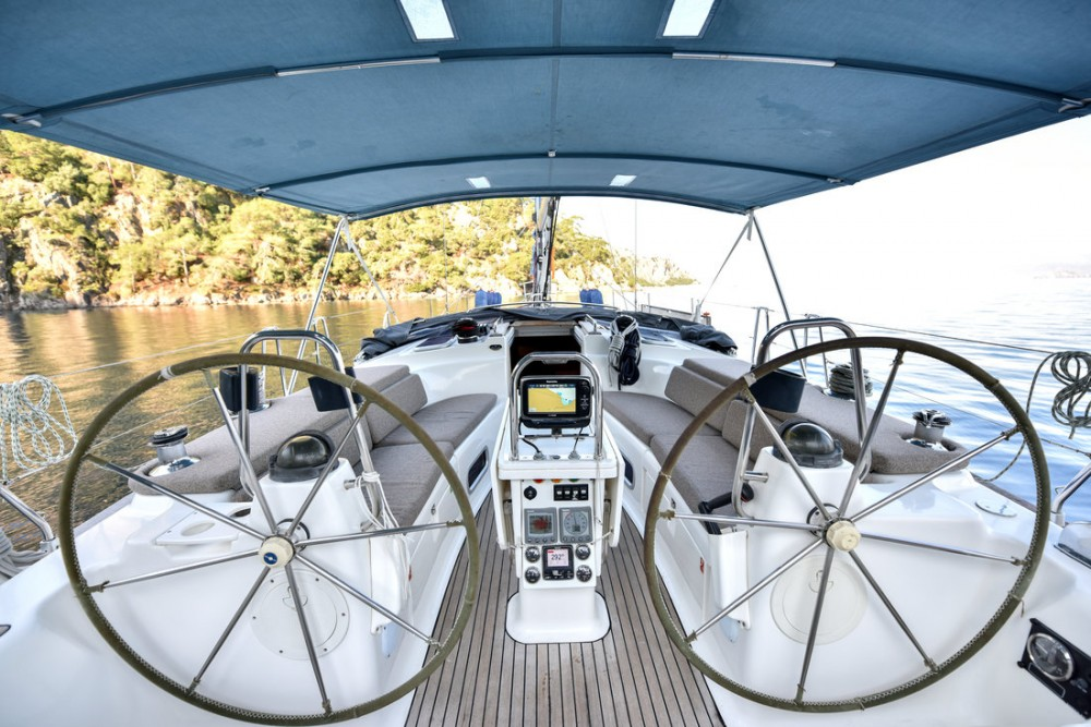 Sailboat for rent Turkey at the best price