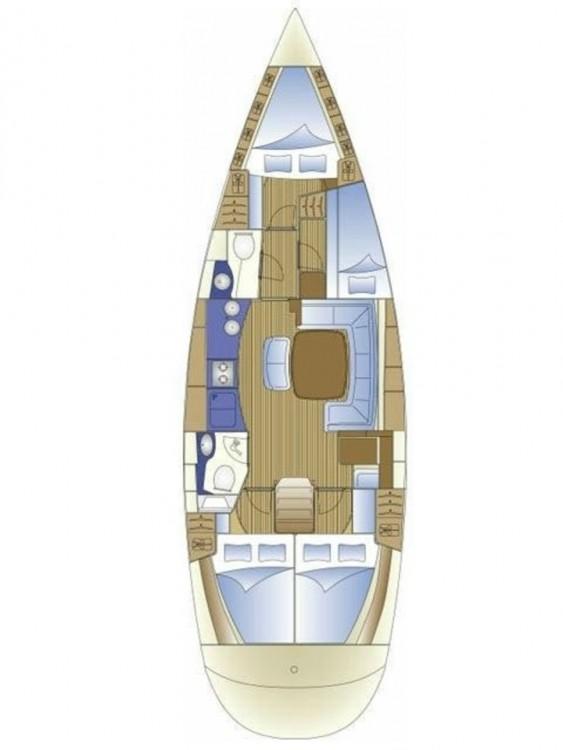 Boat rental Bavaria Bavaria 44 in  on Samboat