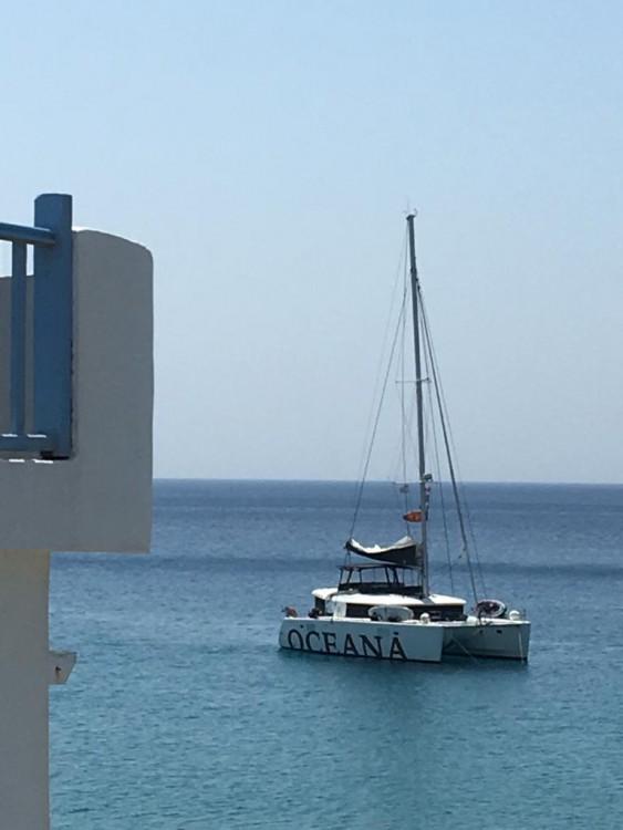 Rent a Lagoon Lagoon 450 F - 4 + 2 cab. Peloponnese
