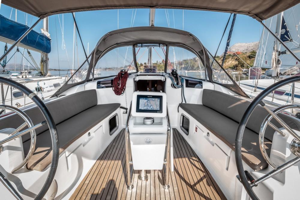 Boat rental Ionian Islands cheap Sun Odyssey 449