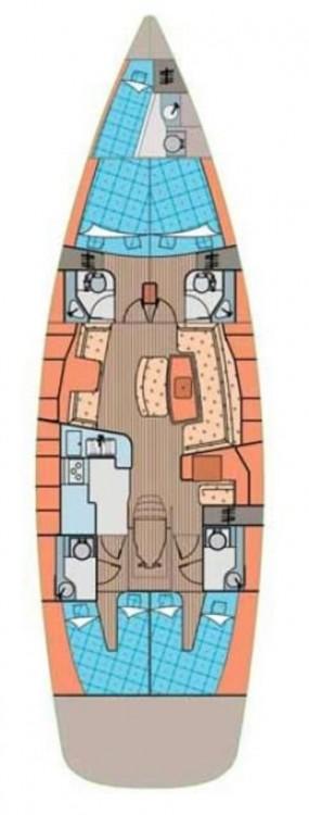 Boat rental Croatia cheap Elan 514 Impression - 4 + 1 cab.