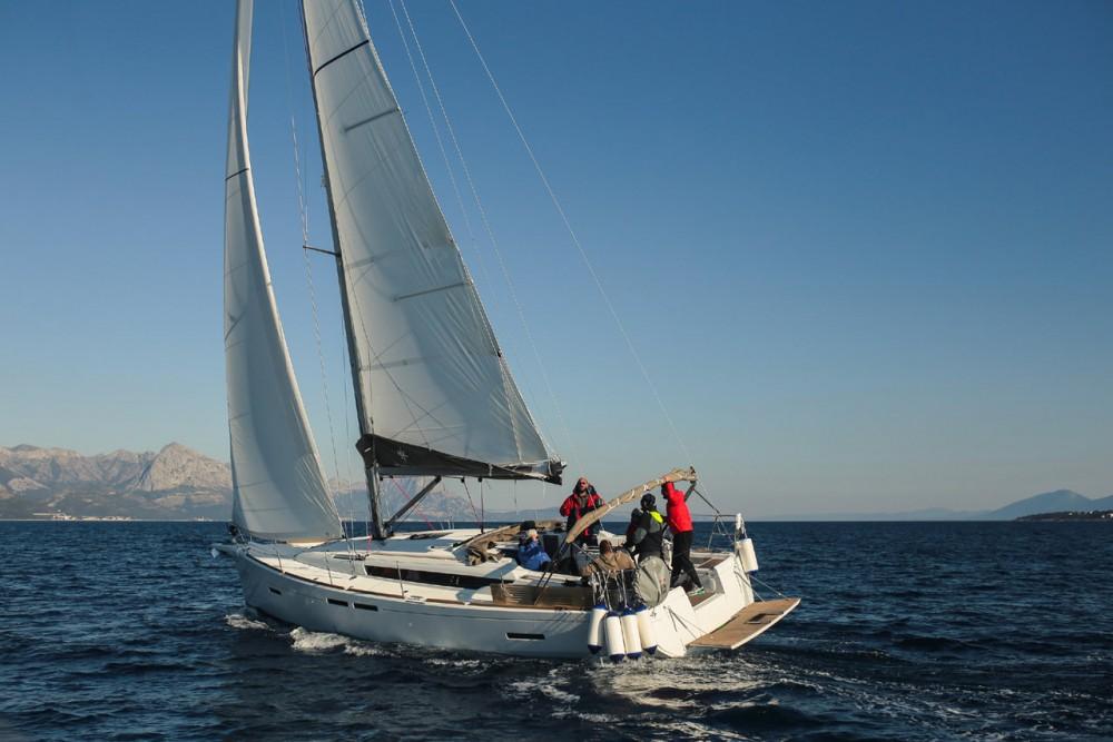 Rental Sailboat in Croatia - Jeanneau Sun Odyssey 419