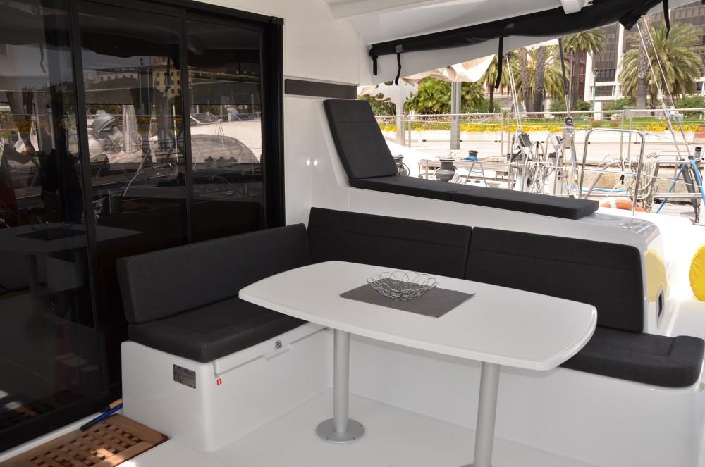 Catamaran for rent Cagliari at the best price