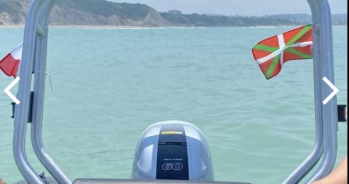 Rental RIB 3D Tender with a permit