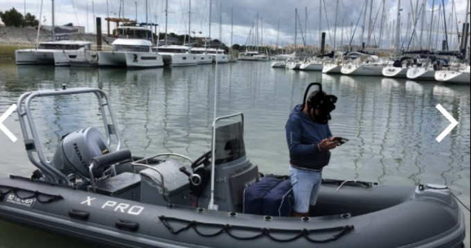 Boat rental Saint-Jean-de-Luz cheap 3D Tender 535