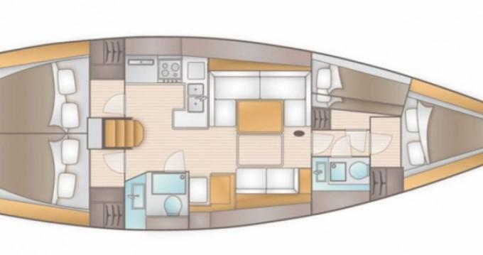 Rental yacht Syros (Island) - Salona Salona 44 on SamBoat
