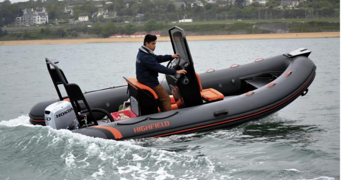 Highfield Ocean Master 540 between personal and professional Noirmoutier-en-l'Île
