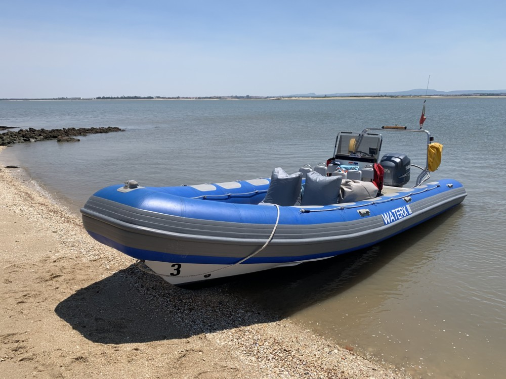 Hire RIB with or without skipper Valiant Lisbon