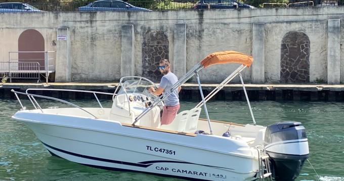Rental Motorboat in Saint-Raphaël - Jeanneau Cap Camarat 545 CC