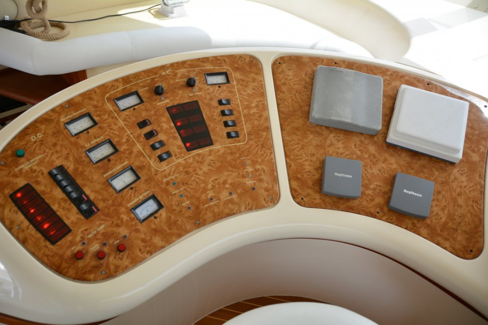 Rental Motorboat Azimut-Benetti-Yachts with a permit