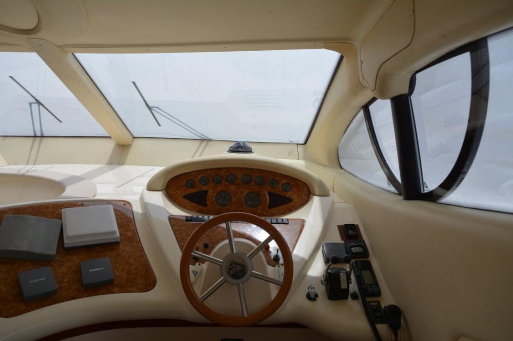 Boat rental Ionian Islands cheap Azimut 46 Fly