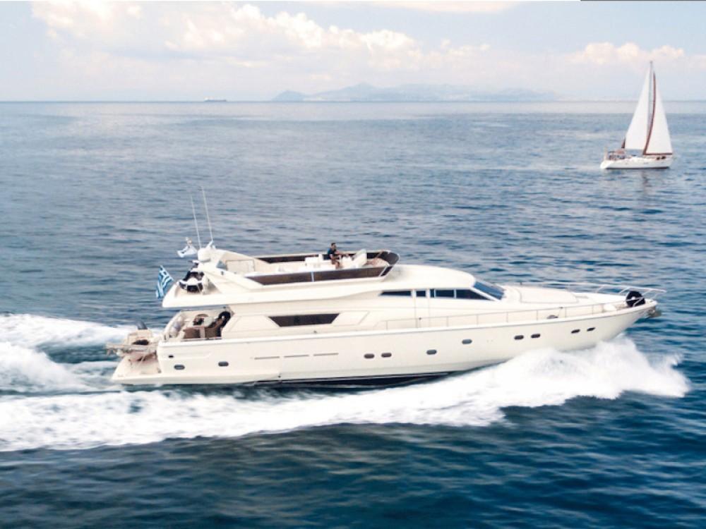 Rental yacht Álimos - Ferreti Ferretti 225 on SamBoat