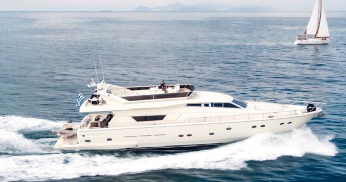 Rental Yacht in Alimos - Ferretti Ferretti 225