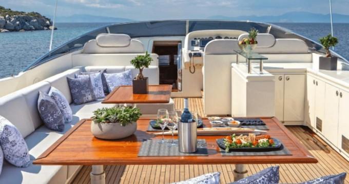 Boat rental Alimos cheap Posillipo Technema 95S