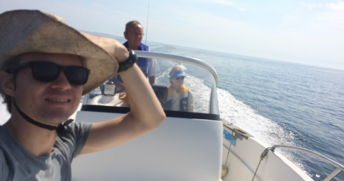 Rental yacht La Forêt-Fouesnant - Quicksilver Quicksilver 550 Commander on SamBoat