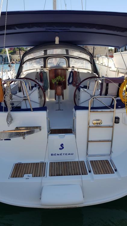 Bénéteau Oceanis 473 between personal and professional Brindisi