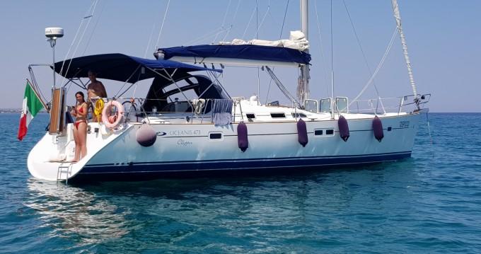 Boat rental Brindisi cheap Oceanis 473