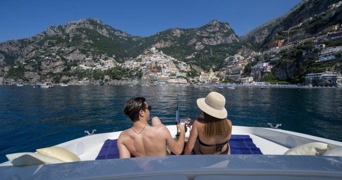 Boat rental Amalfi cheap Tornado 50S