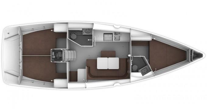 Boat rental Bavaria Bavaria 41 Cruiser in Gouvia on Samboat