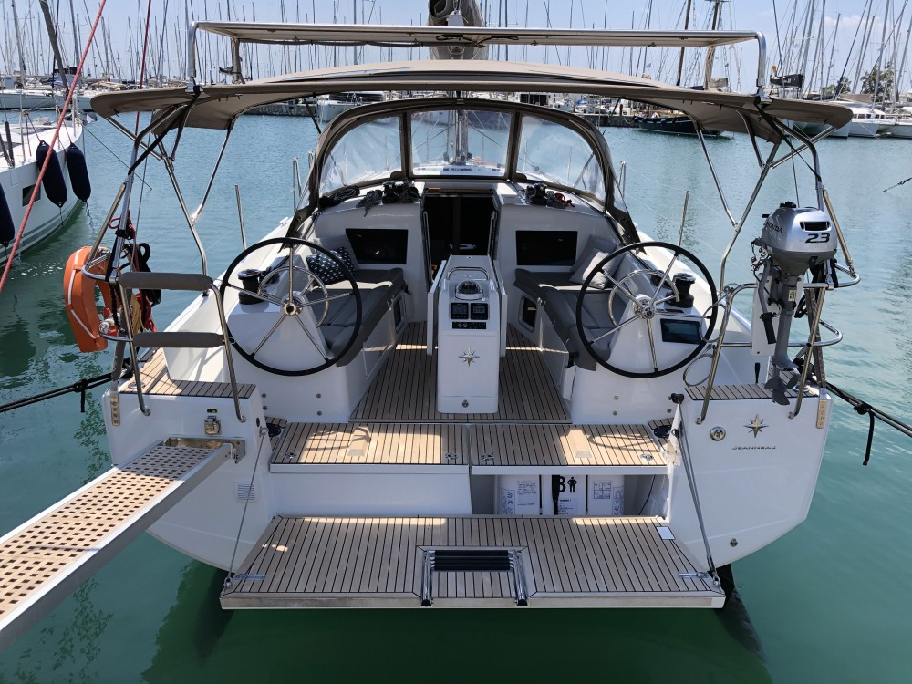Rent a Jeanneau Sun Odyssey 410 ( INVENTER)  Álimos