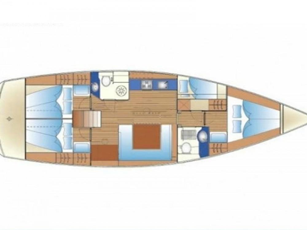 Boat rental Bavaria Bavaria 47 Cruiser in Rodi on Samboat