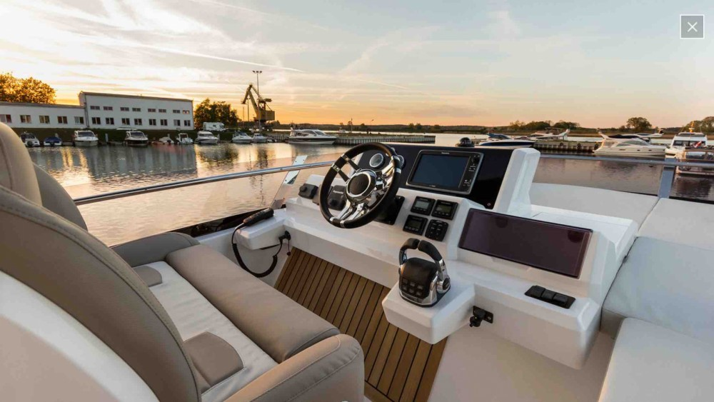 Boat rental Vallauris cheap Galeon 550 Fly