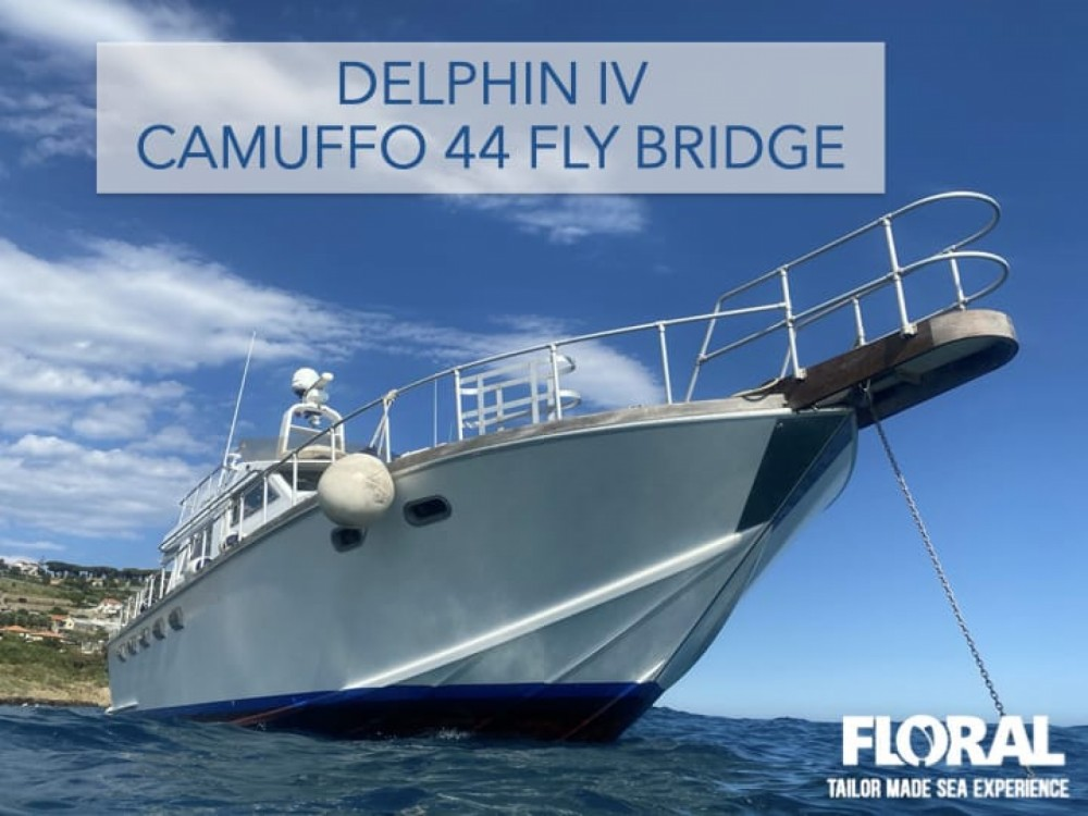 Camuffo c44 fly between personal and professional Sanremo