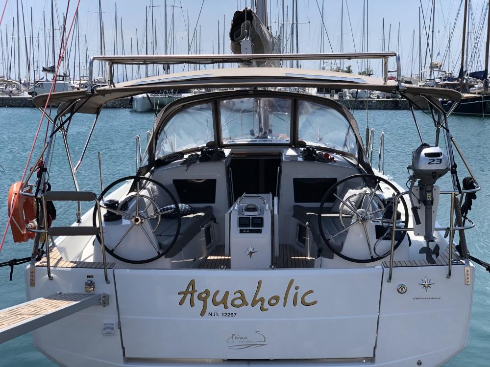 Rental yacht Álimos - Jeanneau Sun Odyssey 410 ( INVENTER)  on SamBoat