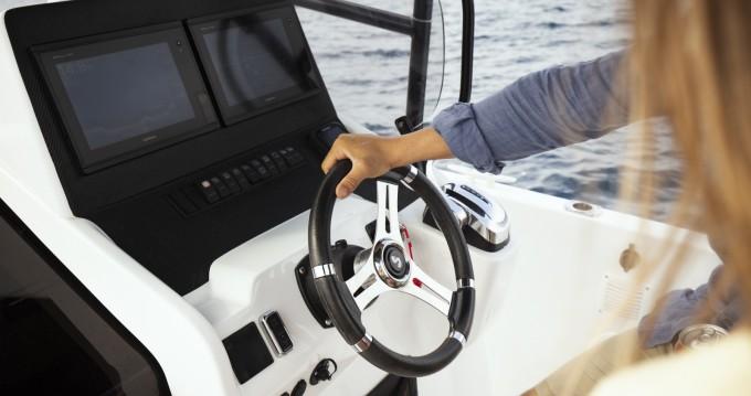 Boat rental Dénia cheap Flyer 8 SPACEdeck