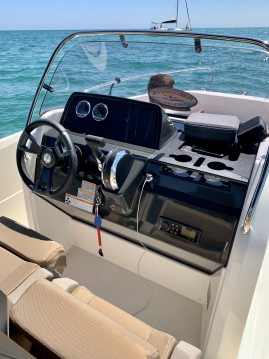 Hire Motorboat with or without skipper Quicksilver Sitges