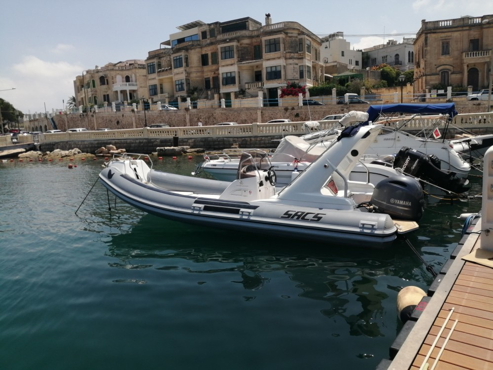 Boat rental Sacs Sacs S 680 in Sliema on Samboat