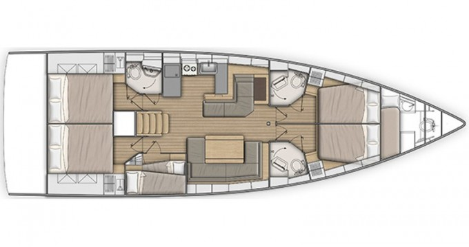 Boat rental Bénéteau Oceanis 51.1 in Mykonos (Island) on Samboat