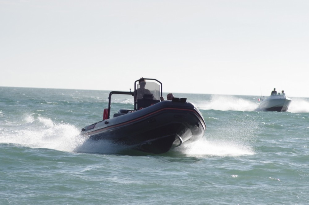 Rental RIB Highfield with a permit