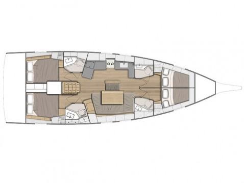 Rental Sailboat in Athens - Bénéteau Oceanis 46.1