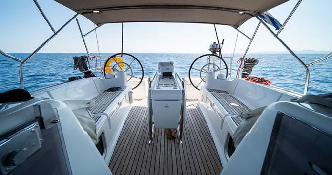 Boat rental Corfu cheap Sun Odyssey 449
