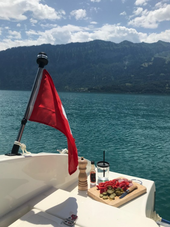 Motorboat for rent Interlaken at the best price