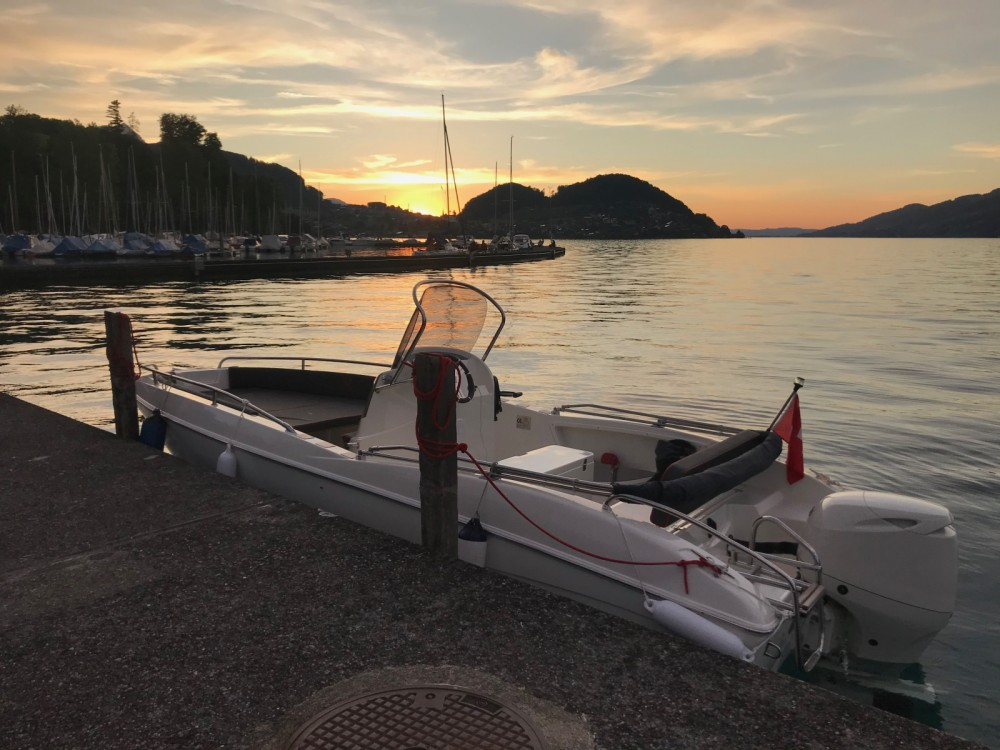Rental Motorboat Prua al vento with a permit
