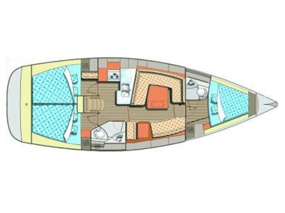 Boat rental Elan Elan 384 Impression in Grad Biograd na Moru on Samboat