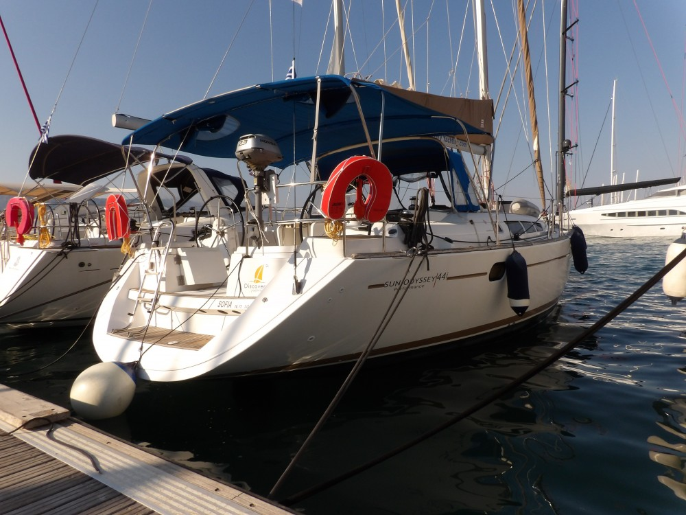 Boat rental Kontokali cheap Sun Odyssey 44i