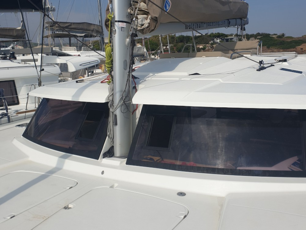 Fountaine Pajot Helia 44 between personal and professional Lefkada