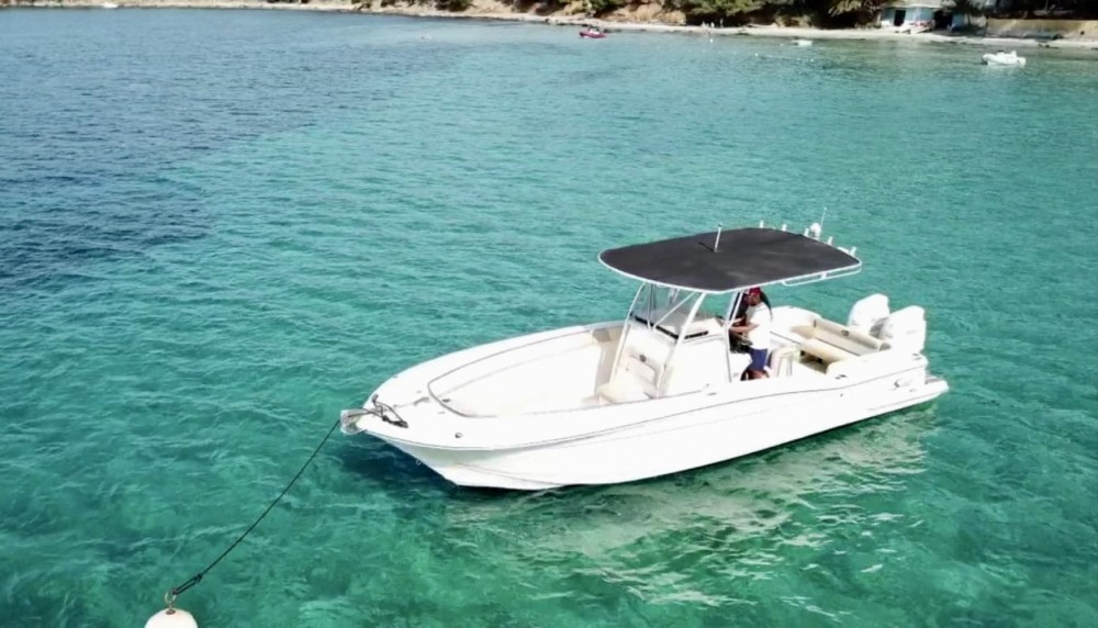 Rental Motorboat Scout with a permit
