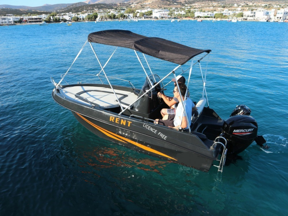 Motorboat for rent Aegean at the best price