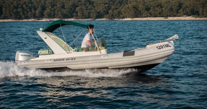 Rental RIB in Mali Lošinj - Grginić Shark 23