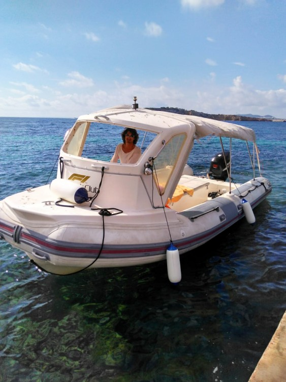 Hire RIB with or without skipper Bwa Ibiza